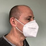 Protective mask type KN95/FFP2