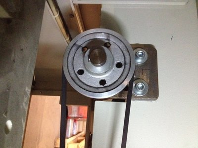 V-belt pulley for driving wheel group (SFW120)