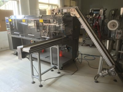 DXDCT-W140 automatic pyramid tea bag outer envelope packing machine