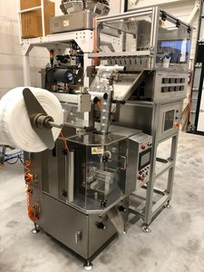 DXDCT-E8 automatic pyramid tea bag packing machine